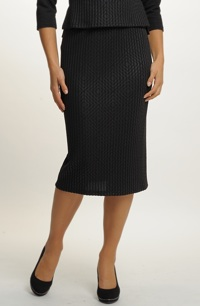 Elegantní úzká sukně
