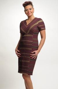 Společenské šaty pro plnoštíhlé ve velikosti 44,46,48,/ XL až XXL