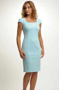Krátké pouzdrové šaty do společnosti vel. 40