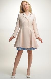 Módní dívčí kabát na šaty