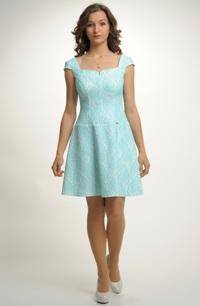 Dívčí šaty na širří ramínka vhodné i do tanečních