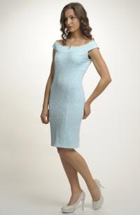 Krátké pouzdrové šaty do společnosti vel. 36, 38, 40, 42. 44