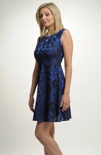 Krátké společenské šaty s delším sedlem vel.36 - 42