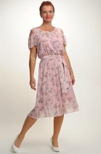 Dívčí šaty s rukávky