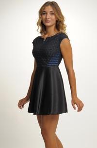 Krátké společenské šaty - malé černé  379b1c00b13