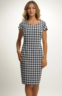 Dámské pouzdrové šaty vhodné do práce i do společnosti