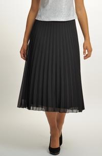 Dlouhá společenská černá sukně