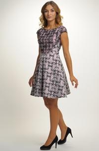 Dívčí šaty do tanečních vhodné na latinu i standardní tance. 4f998cbf85