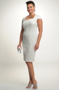 Luxusní společenské šaty vhodné i jako svatební.