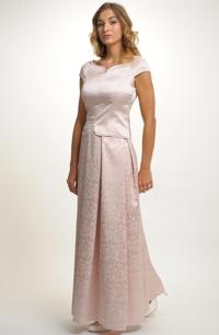 367bdd1a1dc Svatební a společenský top s dlouhou skládanou sukní