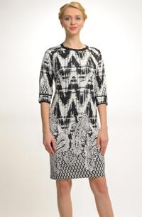 Zeštíhlující pouzdrové šaty