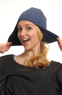 Čepice pletená - ušanka