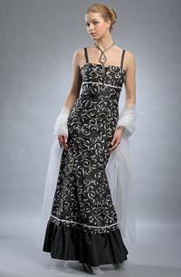 261d0fa223f Exkluzivní dlouhé plesové šaty - SLEVA