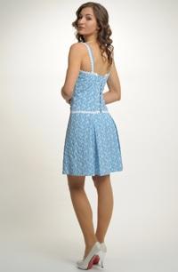 Mladistvé dívčí společenské šaty na svatbu. Velikost 38