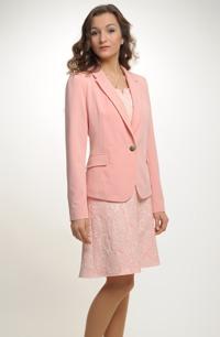 Mladistvé sako v pastelové barvě