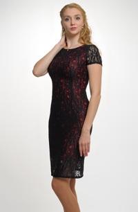 Společenské pouzdrové šaty - pouzdrovky