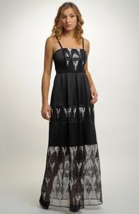 Šaty korzetového střihu vhodné na maturitní ples
