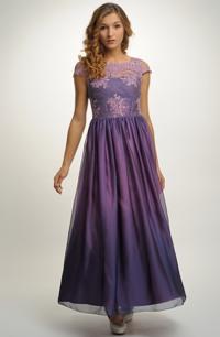 Elegantní dámské šaty na ples s krajkou vel. 36, 38