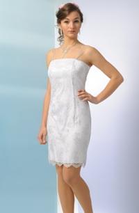 Jemné šaty na svatbu, elastický tyl s květinovým potiskem.