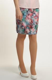 Pouzdrová sukně elastická
