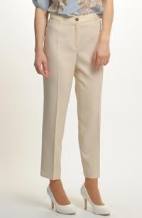 Sportovně elegantní kalhoty s puky