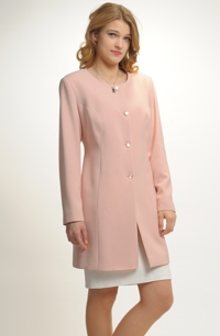 Mladistvý dámský kabát