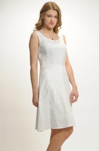 Dívčí koktejlové šaty na svatbu na převlečení