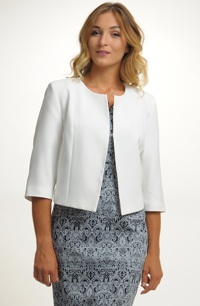 Dámský letní kabátek v pastelové barvě