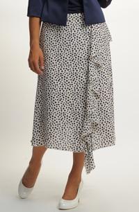 Letní sukně s volánem