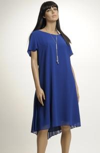 Společenské šaty pro velkou velikost