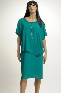 Dámské společenské šaty vhodné pro velké velikosti (XXXL, XXXXL)