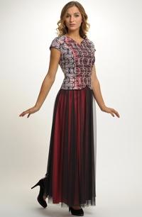 Plesový komplet s tylovou sukní