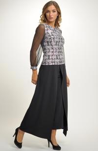 Komplet - top a kalhotová sukně