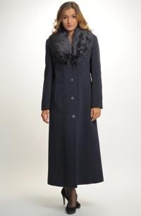 Dlouhý zimní kabát