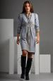 Pletená šatová sukně se svetříkem