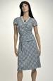 Letní šaty s jemným krajkovým vzorem