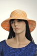 Letní klobouk káro
