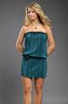 Módní krátké prádlové šaty z plisé pleteniny
