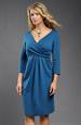 Pleteninové šaty s rukávky a nabíranou sukní