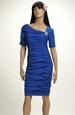 Pleteninové šaty s módním nabíráním