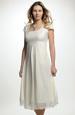 Empírové šaty vhodné i pro těhotné nevěsty