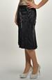 Dámská černá sukně sleva