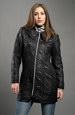 Černý kabátek na zip