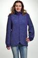 Boucle pletený kabátek