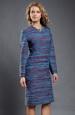 Dámské šaty v jednoduché úzké linii