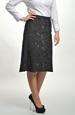 Černá sukně -sleva