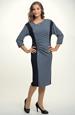 Pletené tunikové šaty s rukávy