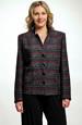 Dámské sako s plastickým vzorem