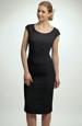 Černé koktejlové krátké šaty