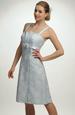 Světlé společenské šaty, vel. 44, 42